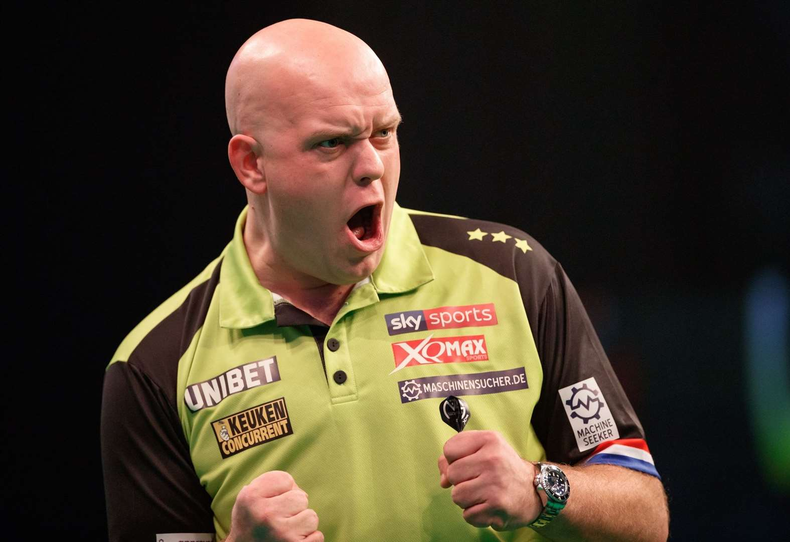 World champion Michael van Gerwen is heading to town