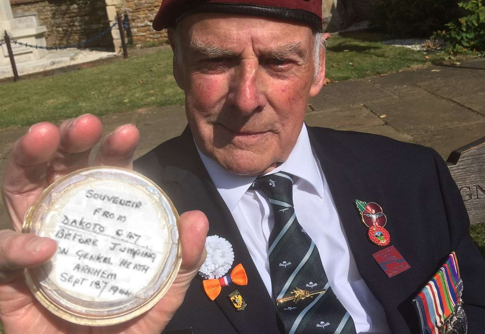 Fund-raisers reach target to create a Heroes Orchard commemorating the veterans of Arnhem