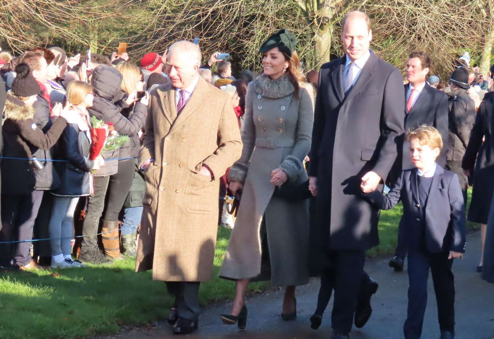 Grantham couple greet Royal family at Sandringham on Christmas Day