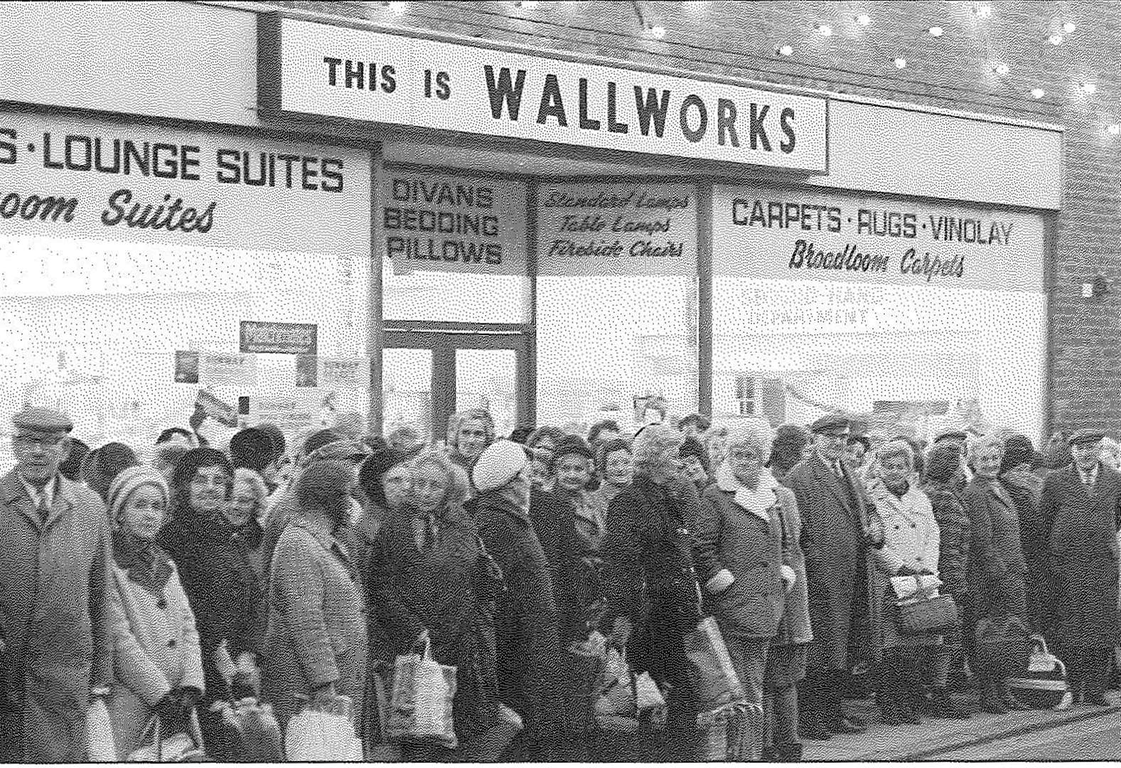 Furniture store was opened by Frankie Vaughan