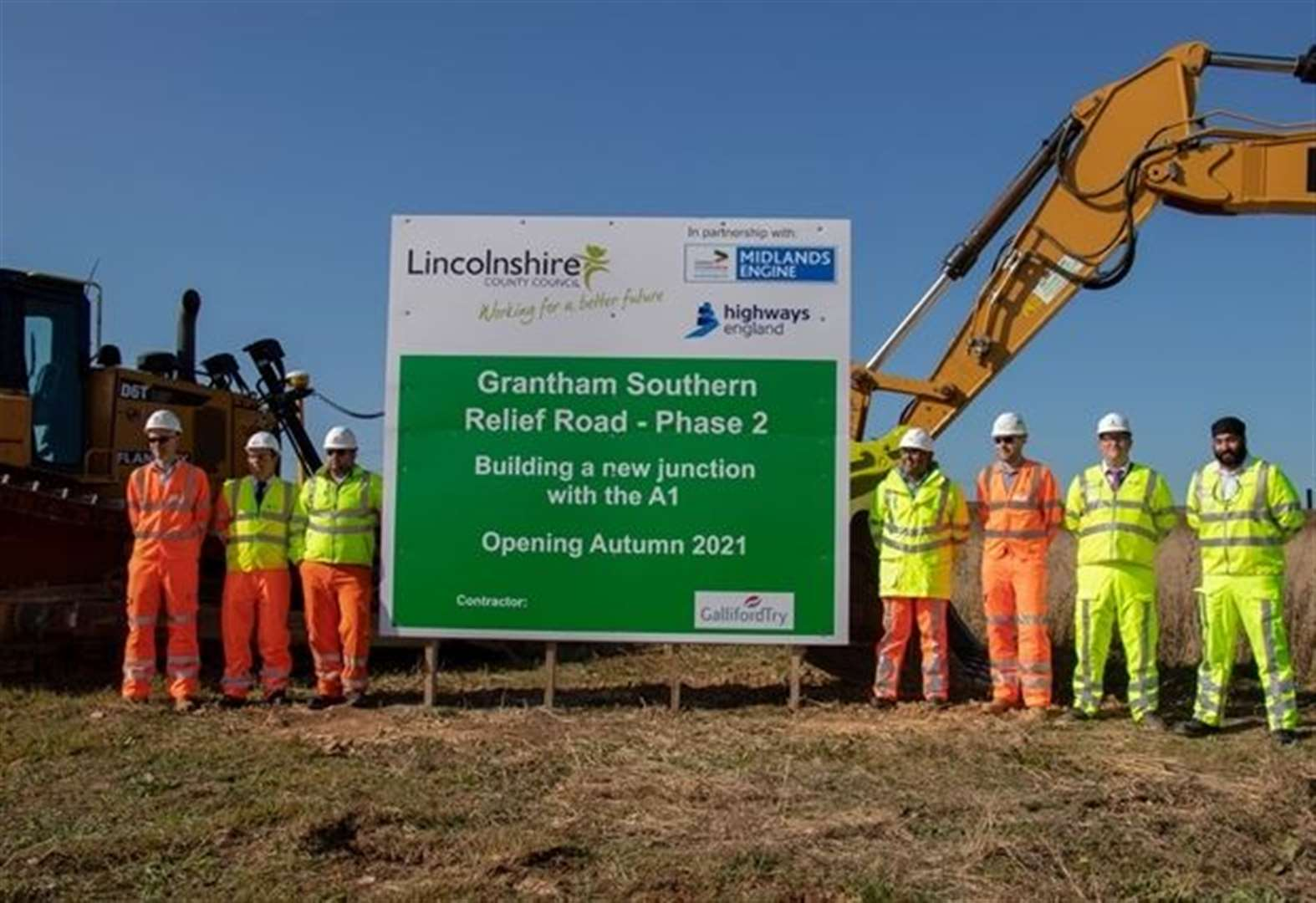 Grantham bypass phase two starts with groundbreaking