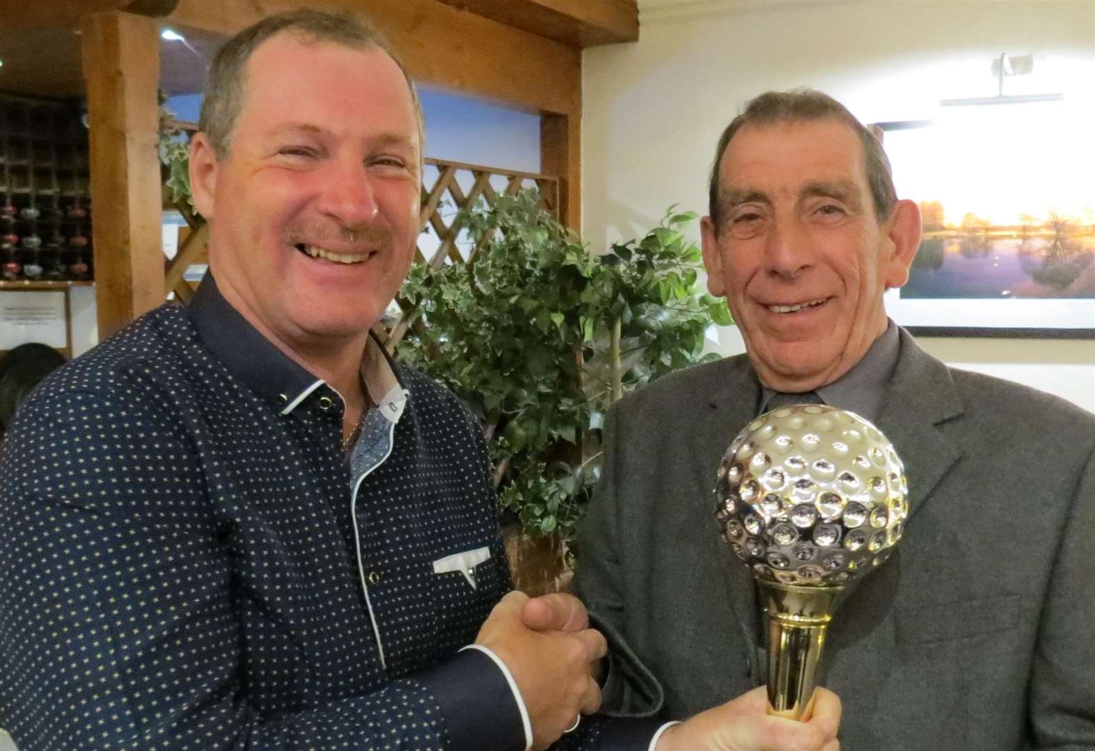 Corby is Senior Golfer of the Year – again