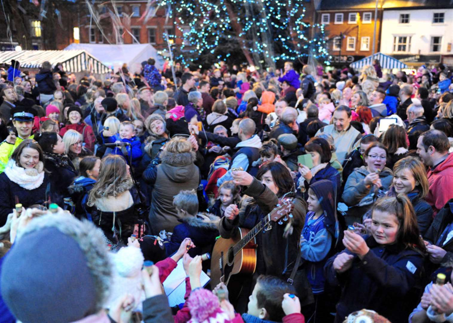 Grantham's Christmas on the Green will go off with a real bang!