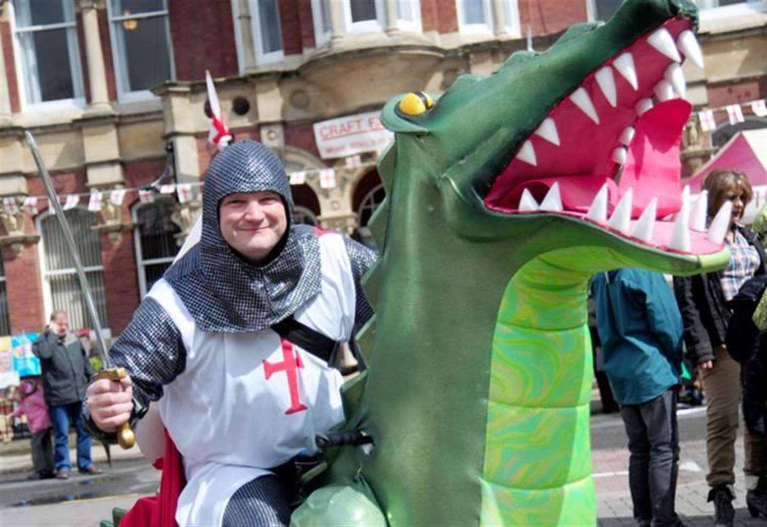 Join in celebration of patron saint George