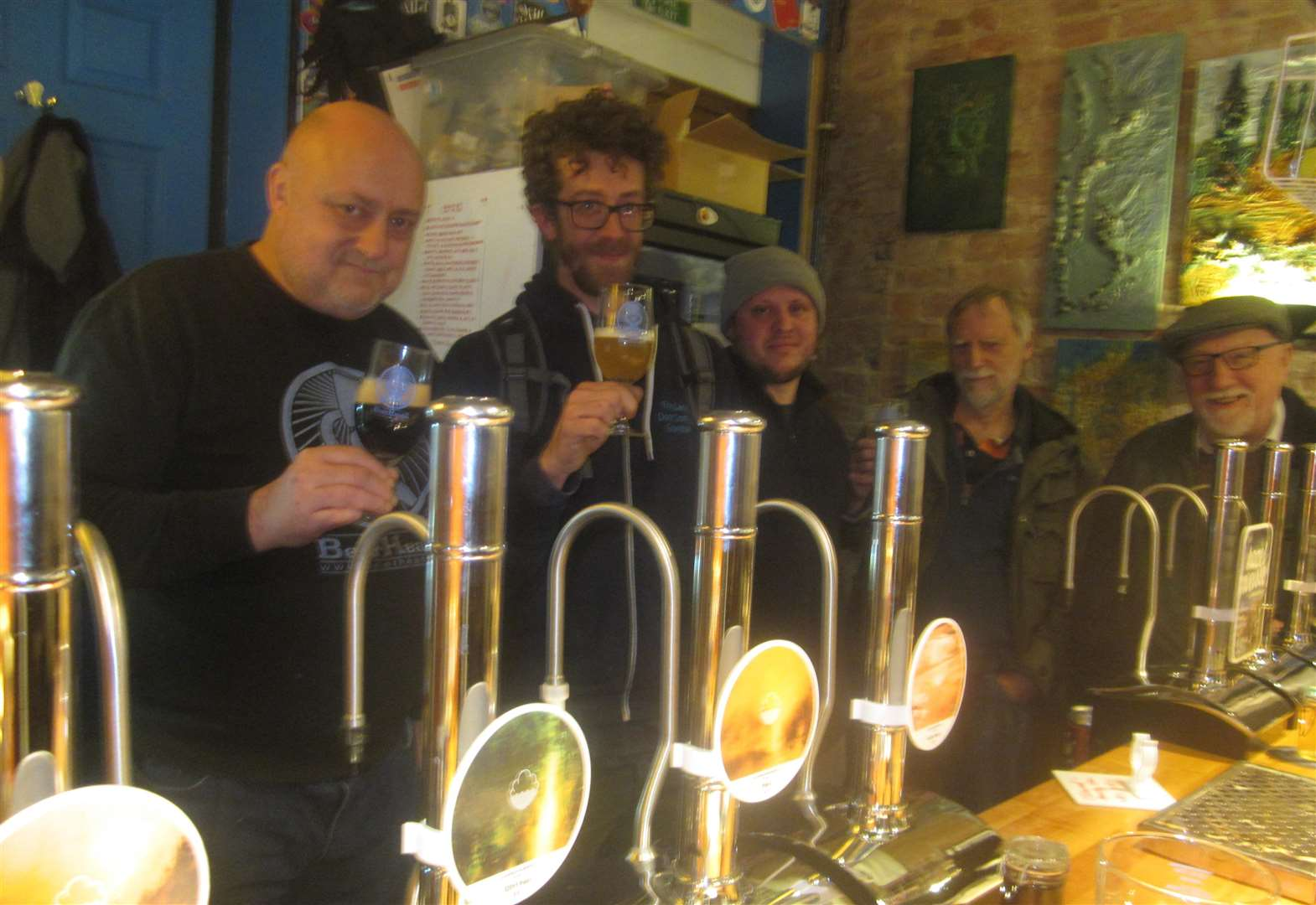 Harry Potter-style midnight launch at Beerheadz bar in Grantham