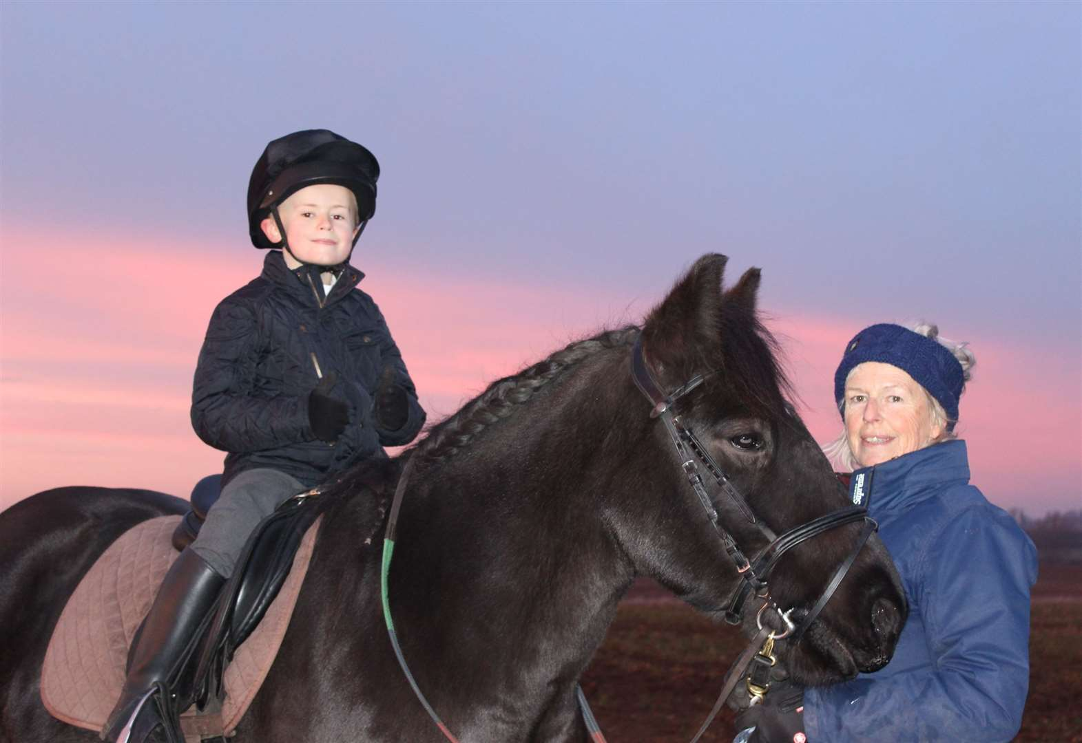 Mum's lottery win is a boost for riding school