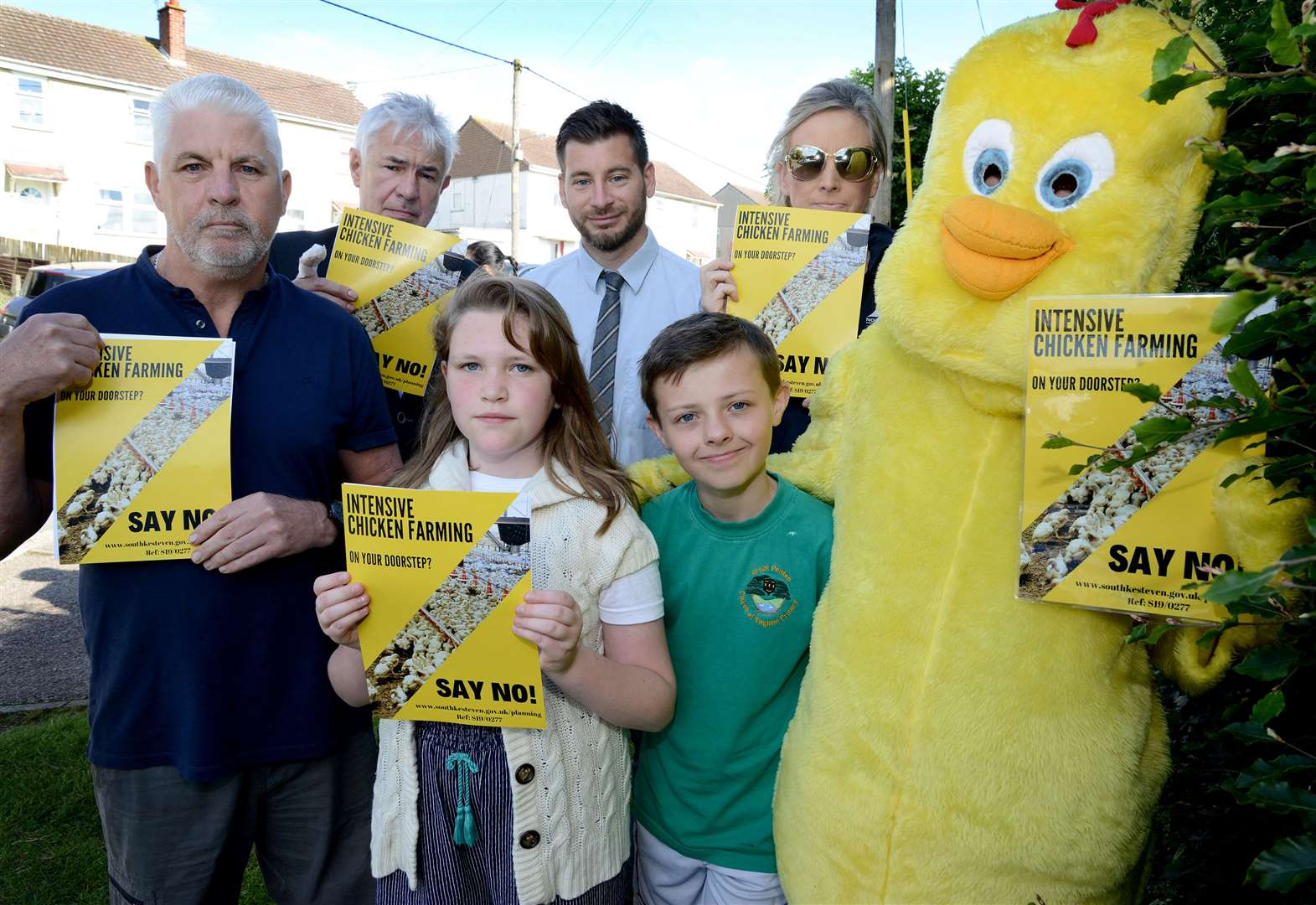 Controversial plan to farm 270,000 chickens near Grantham will go before committee