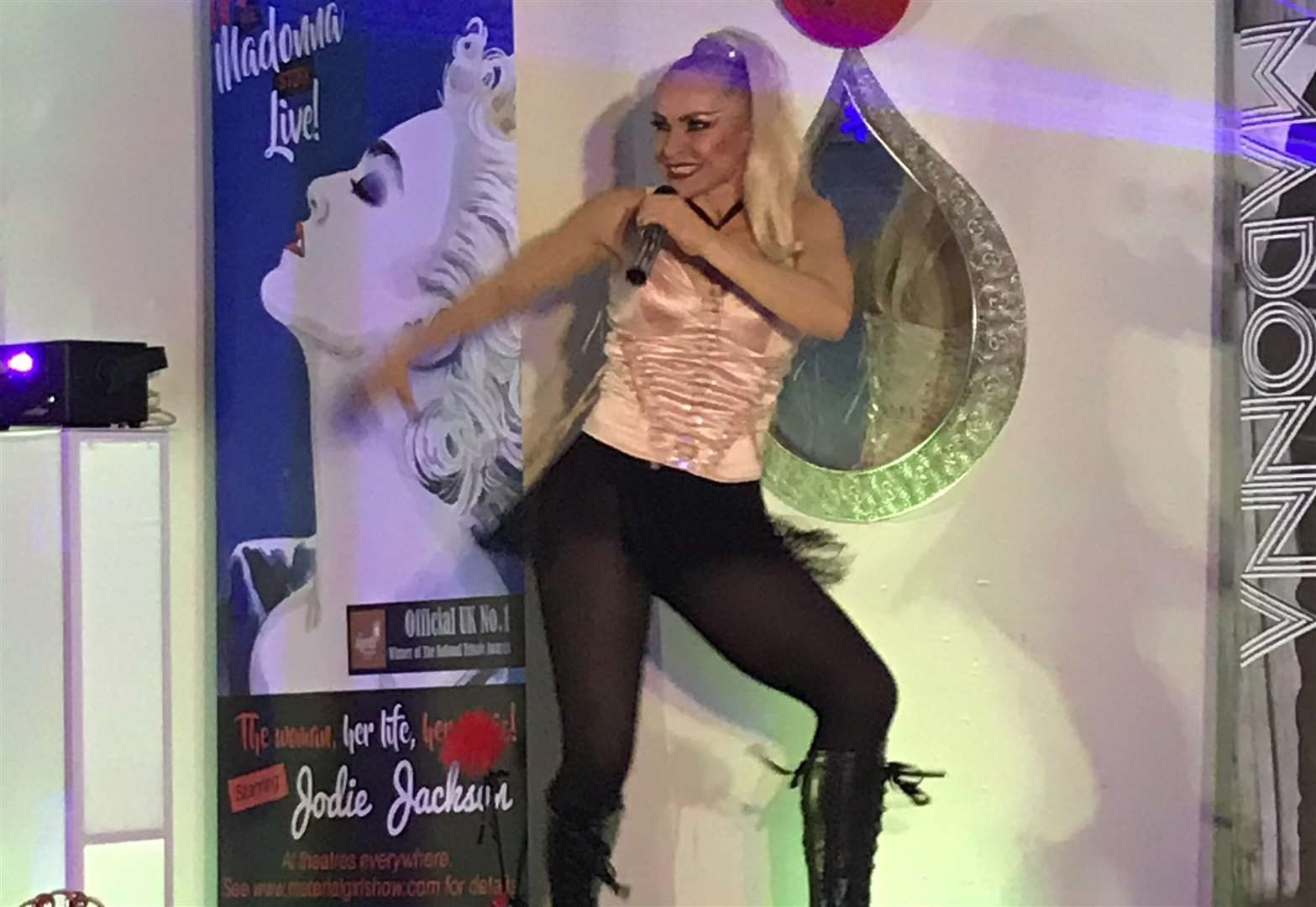 Madonna tribute helps raise thousands at Grantham fund-raising night