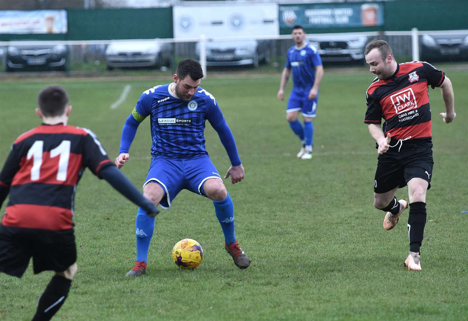 Harrowby United's magnificent seven extends unbeaten run