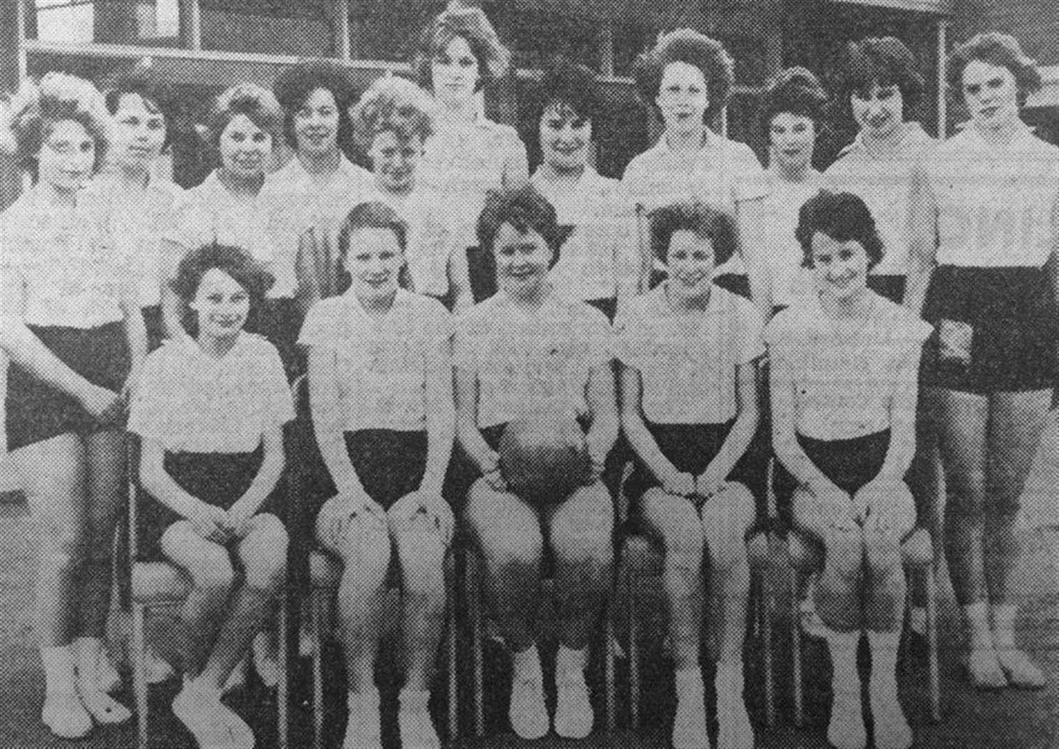 MEMORY LANE: Bottesford schoolgirls led both senior and junior netball leagues in the 1960s