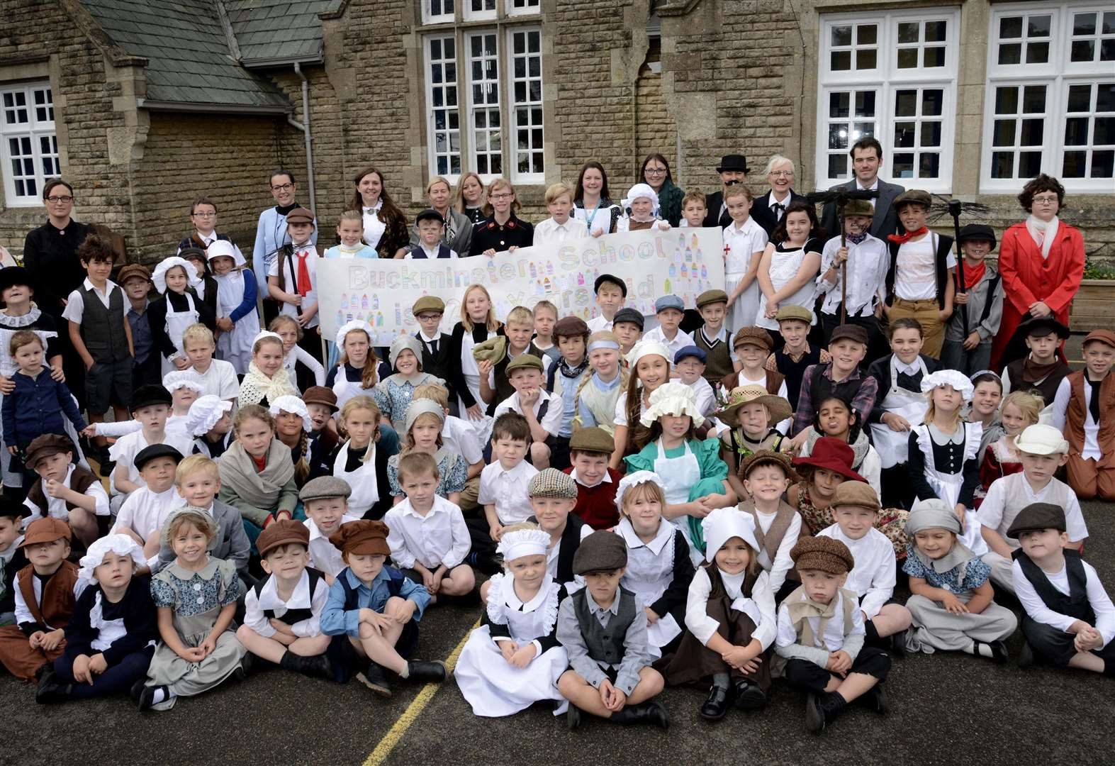 Buckminster pupils travel back in time to mark 120th anniversary