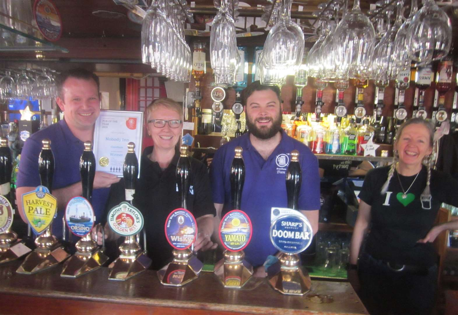 Pubs named best in the area by Camra