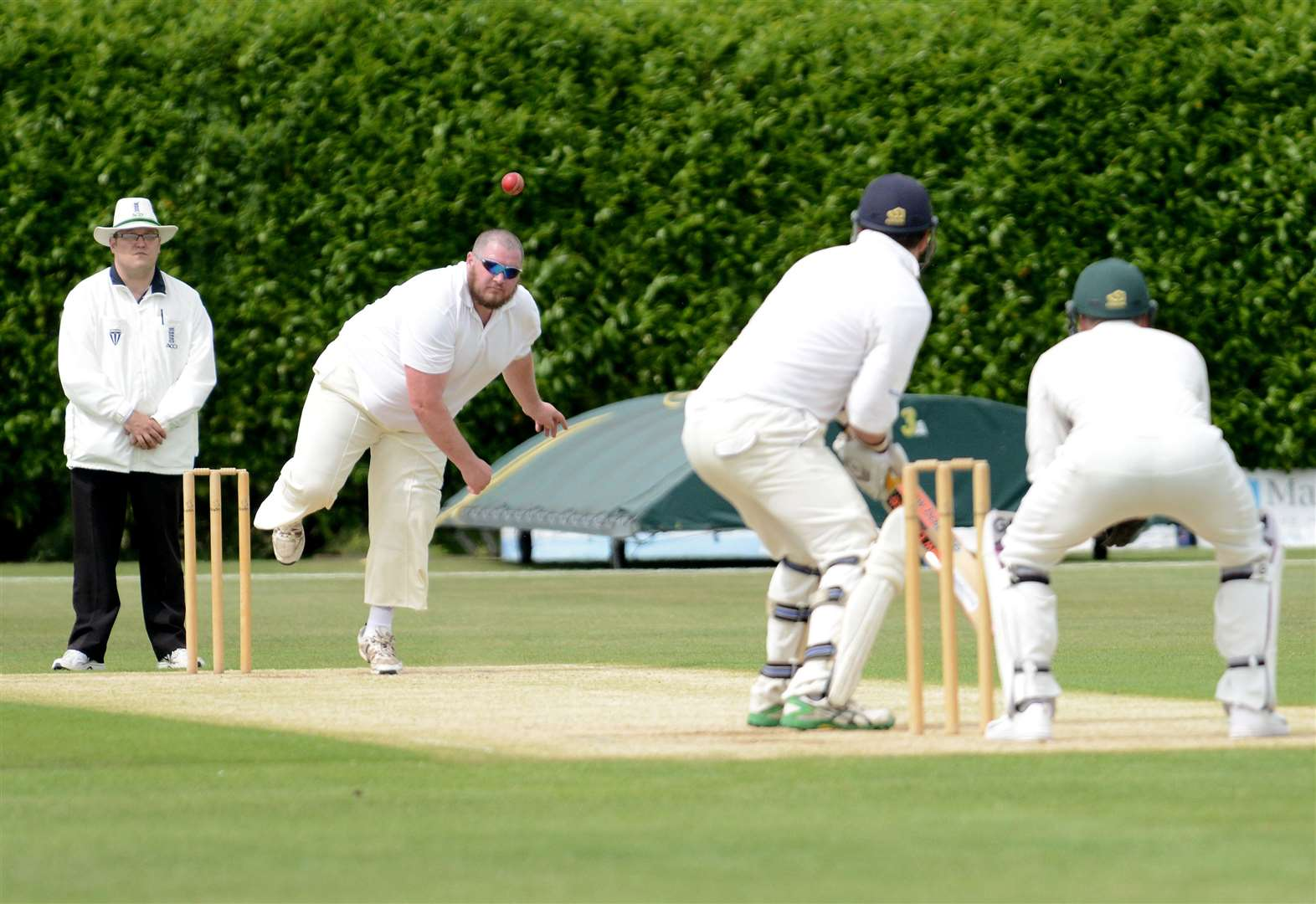 All the latest cricket news including Grantham's defeat and Belvoir's win