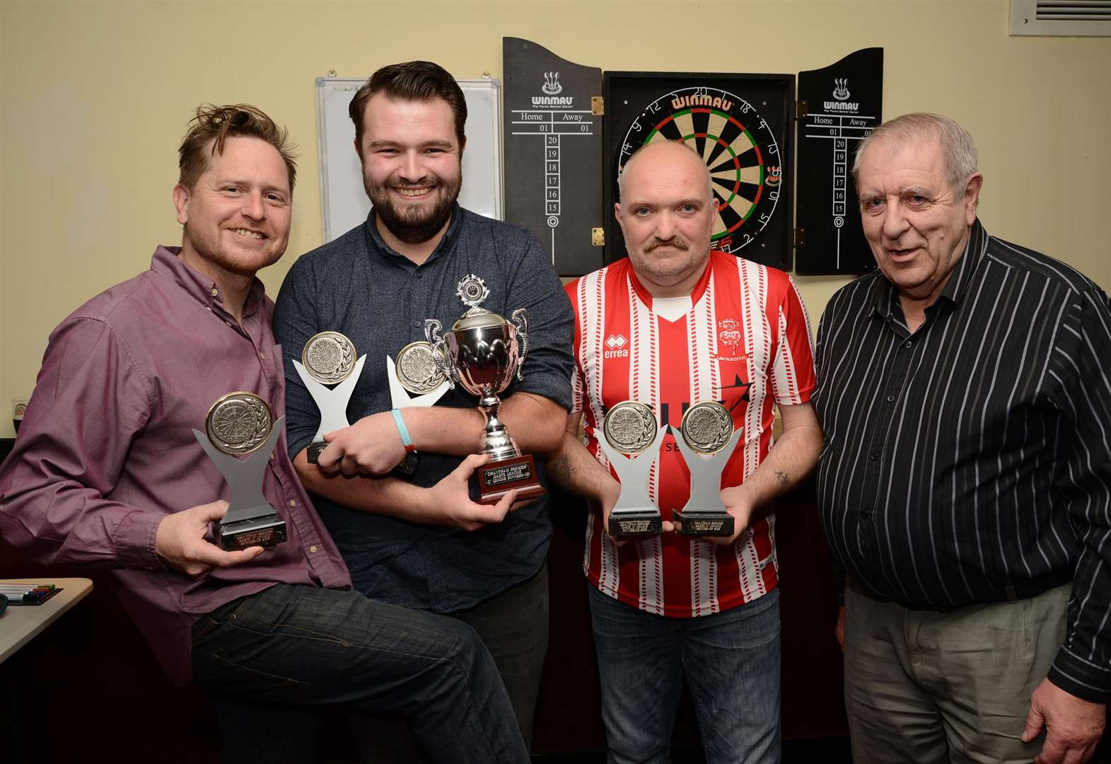 Grantham Premier Darts League holds awards night
