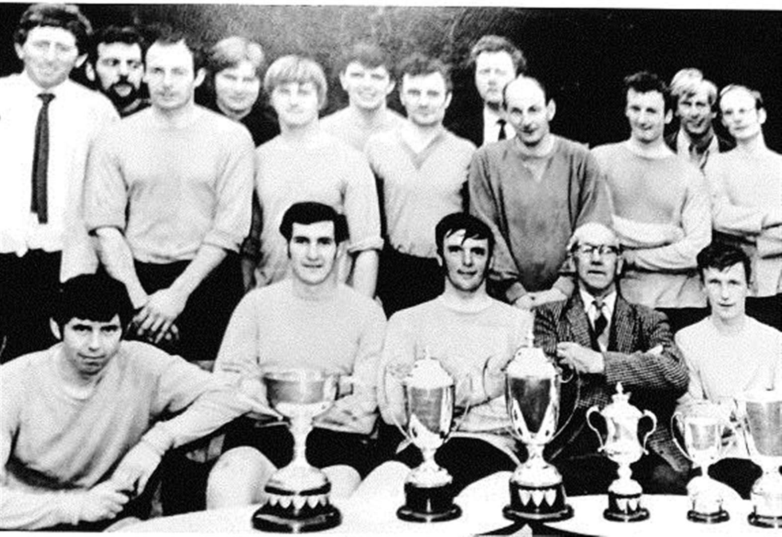 Seventies Ropsley FC side were virtually invincible
