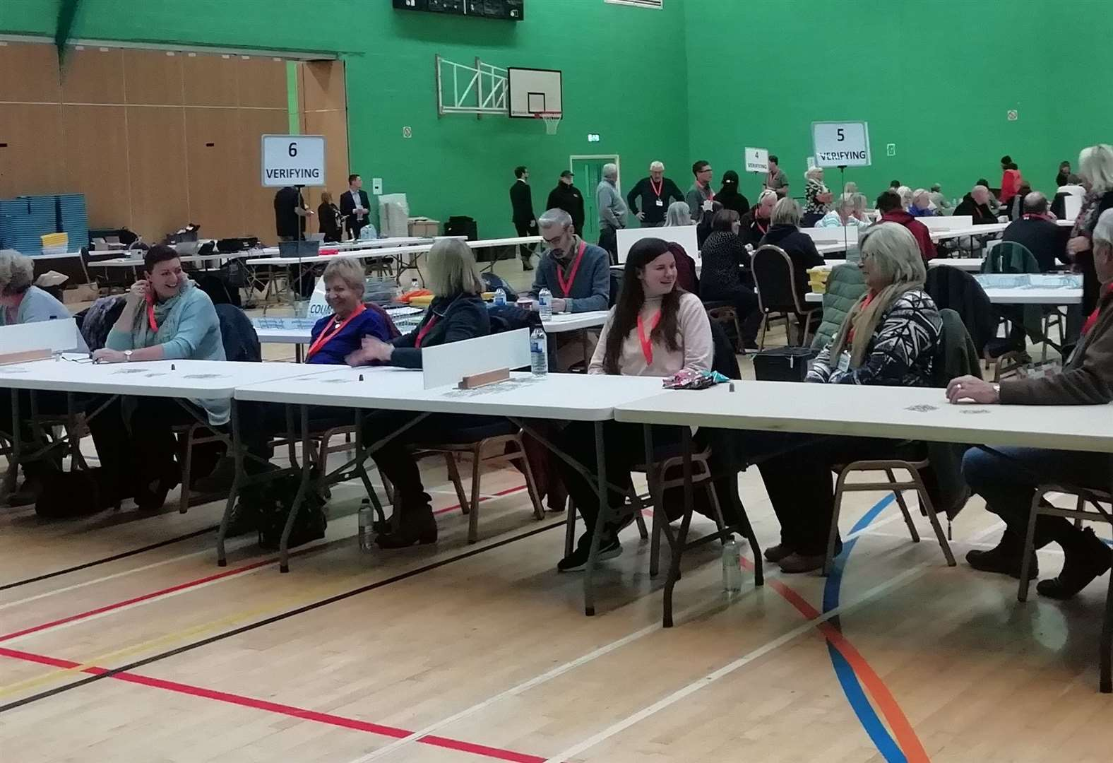 General Election 2019: Grantham and Stamford - Counting begins