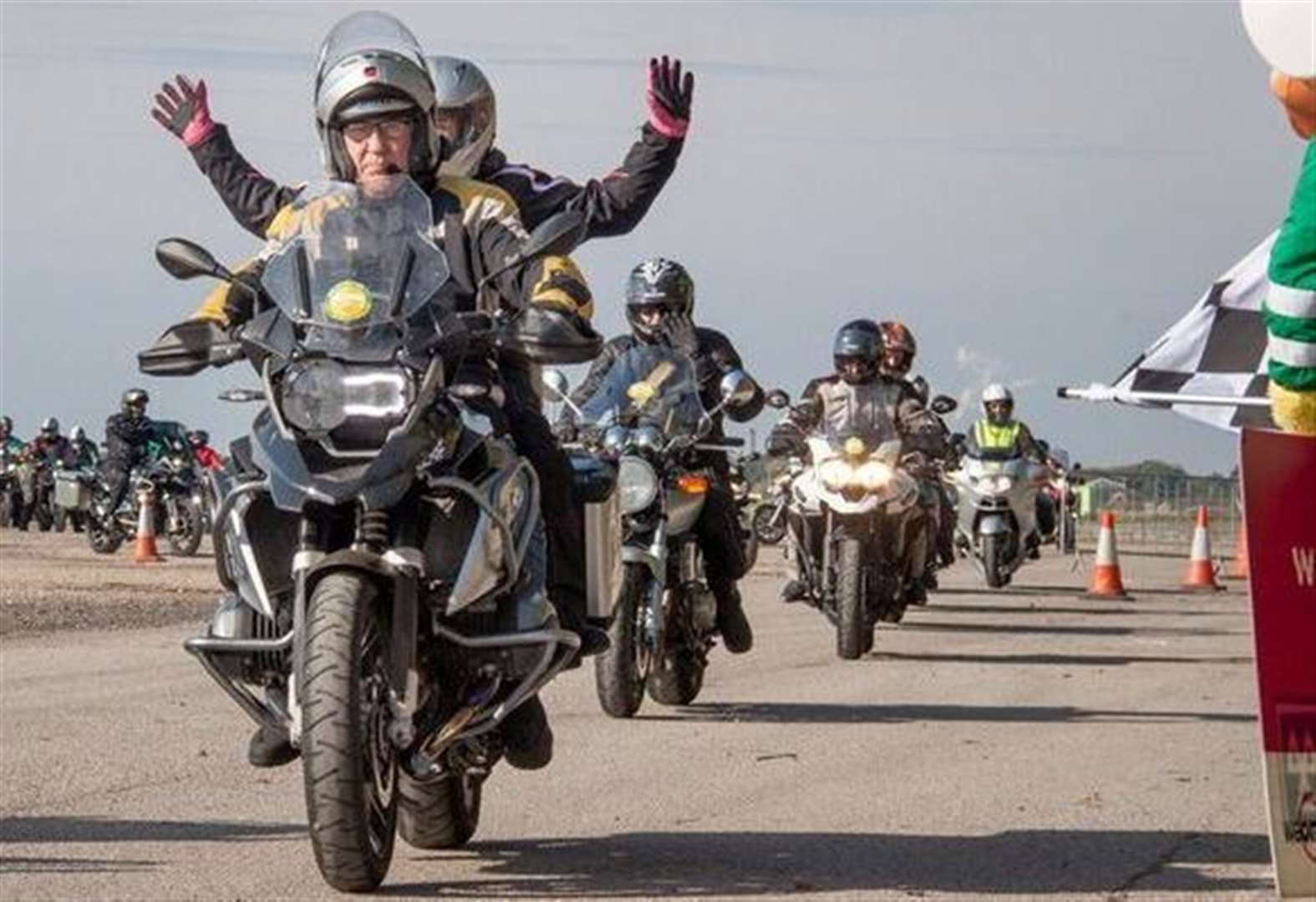Bikers wanted to take part in charity ride for Lincs & Notts Air Ambulance