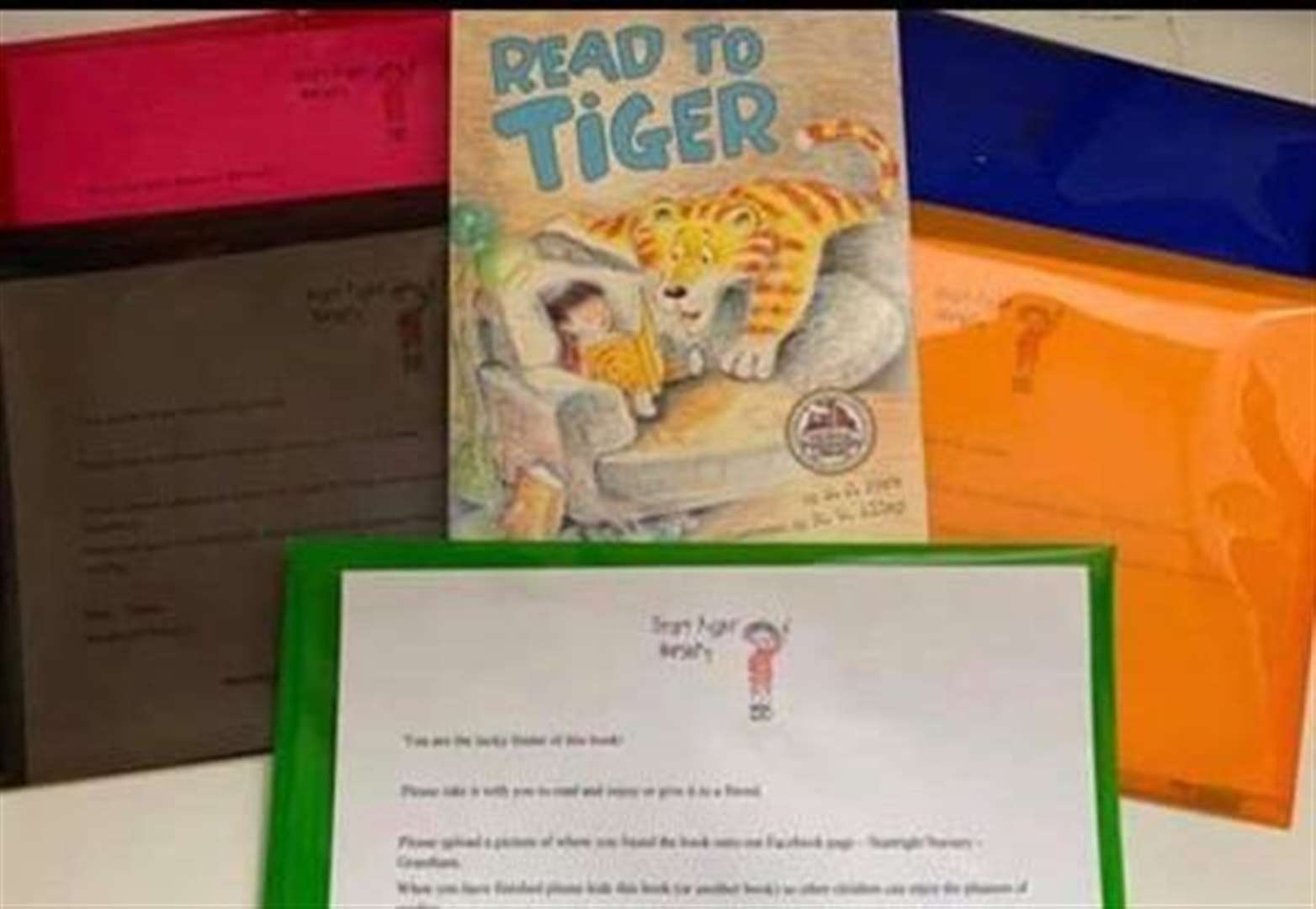 Nursery launches treasure hunt for books around Grantham