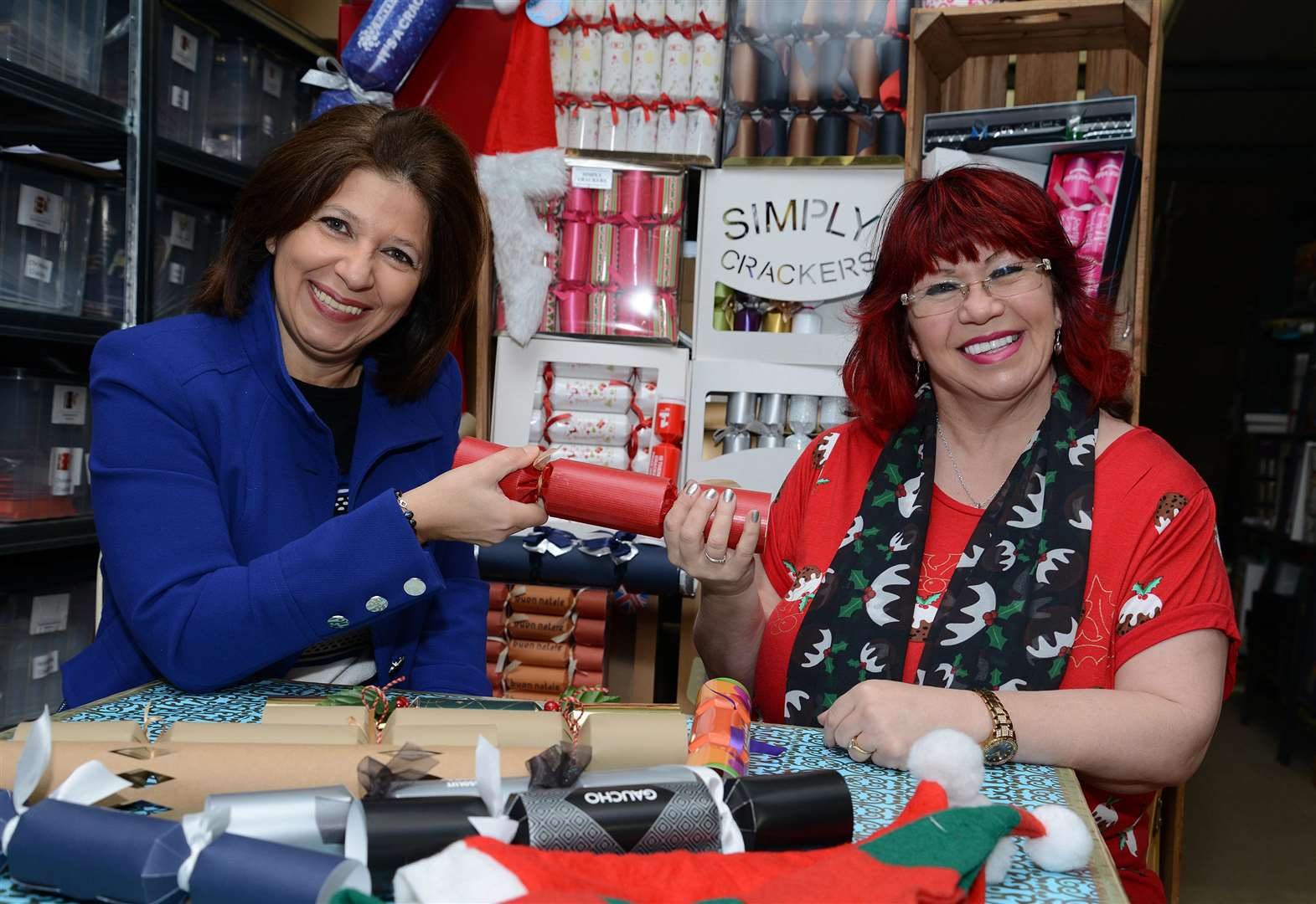 Bottesford cracker factory becomes inspiration behind bestselling Christmas book