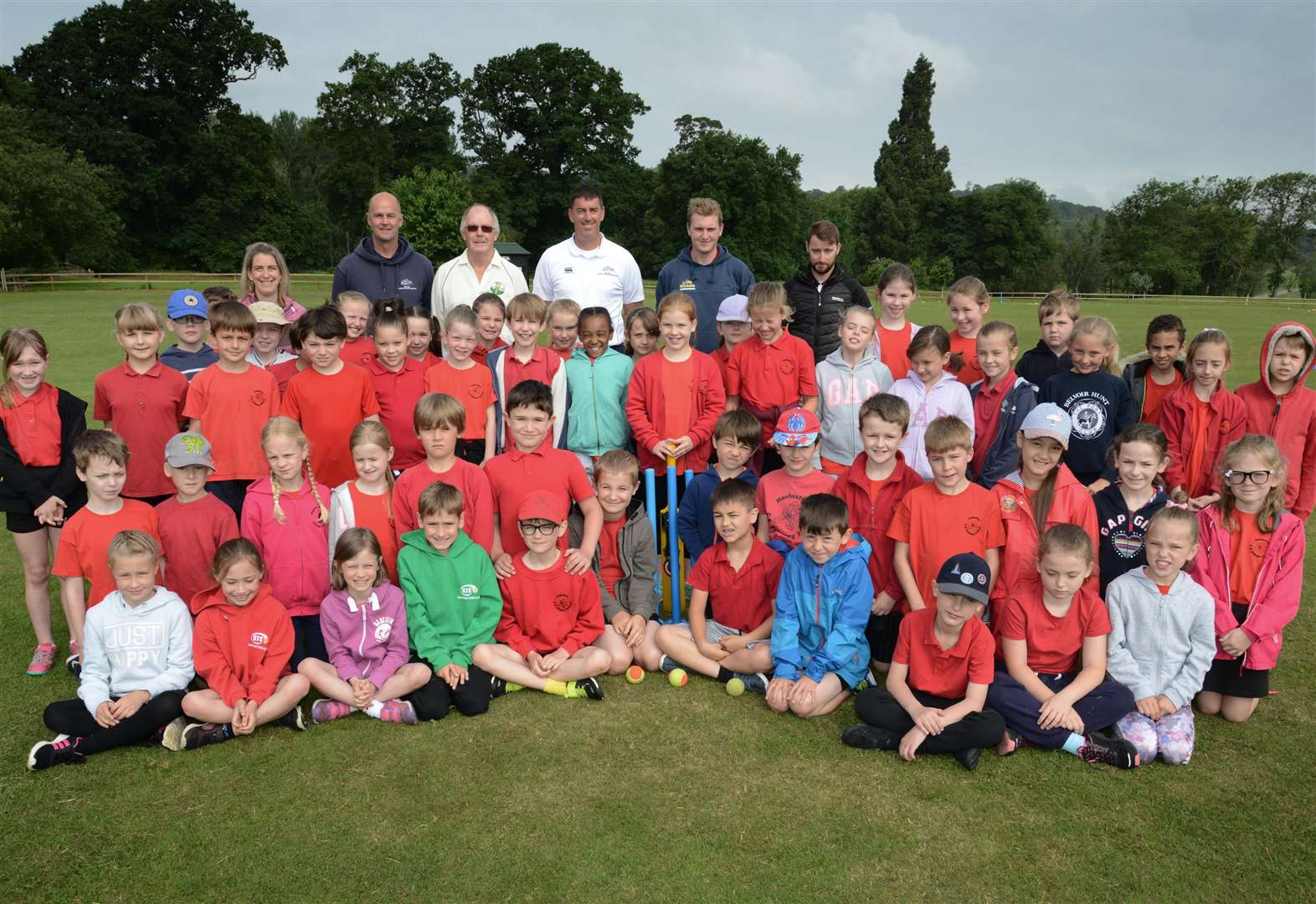 Harlaxton youngsters enjoy countryside and cricket