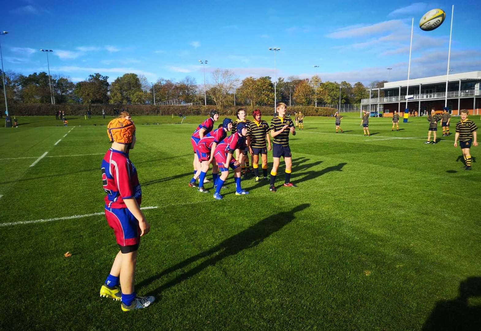 King's School teams all win at Leicester