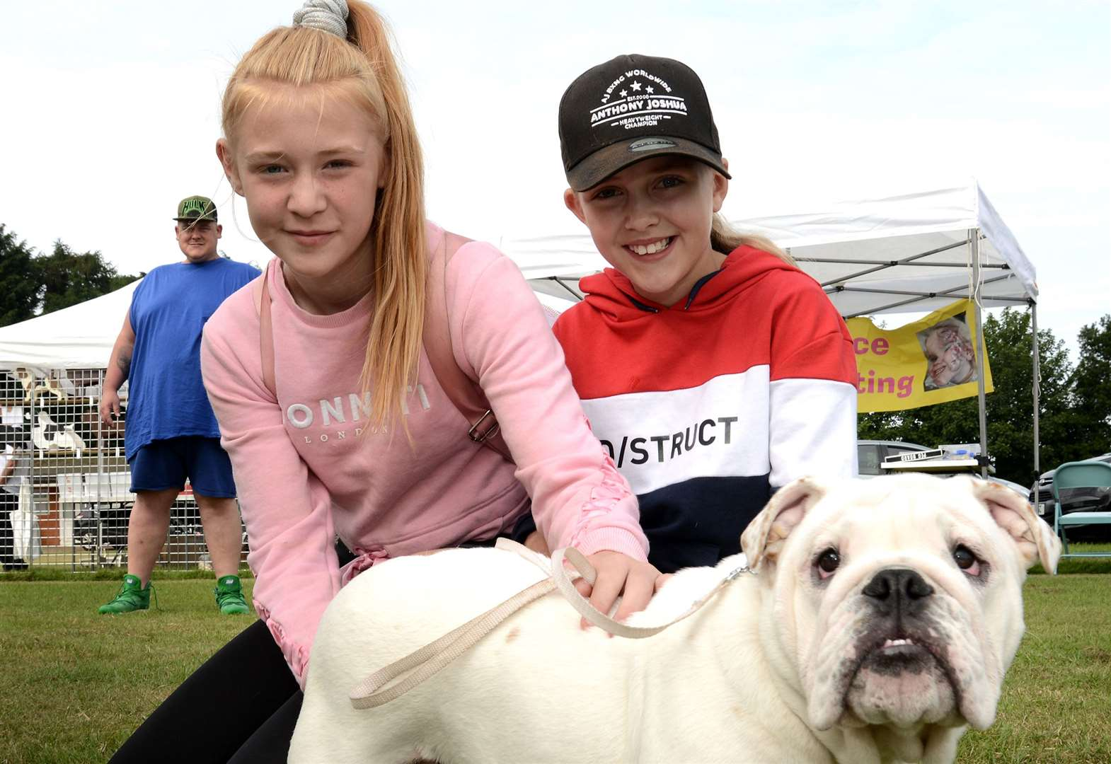 It's a dog's life as sun shines on festival