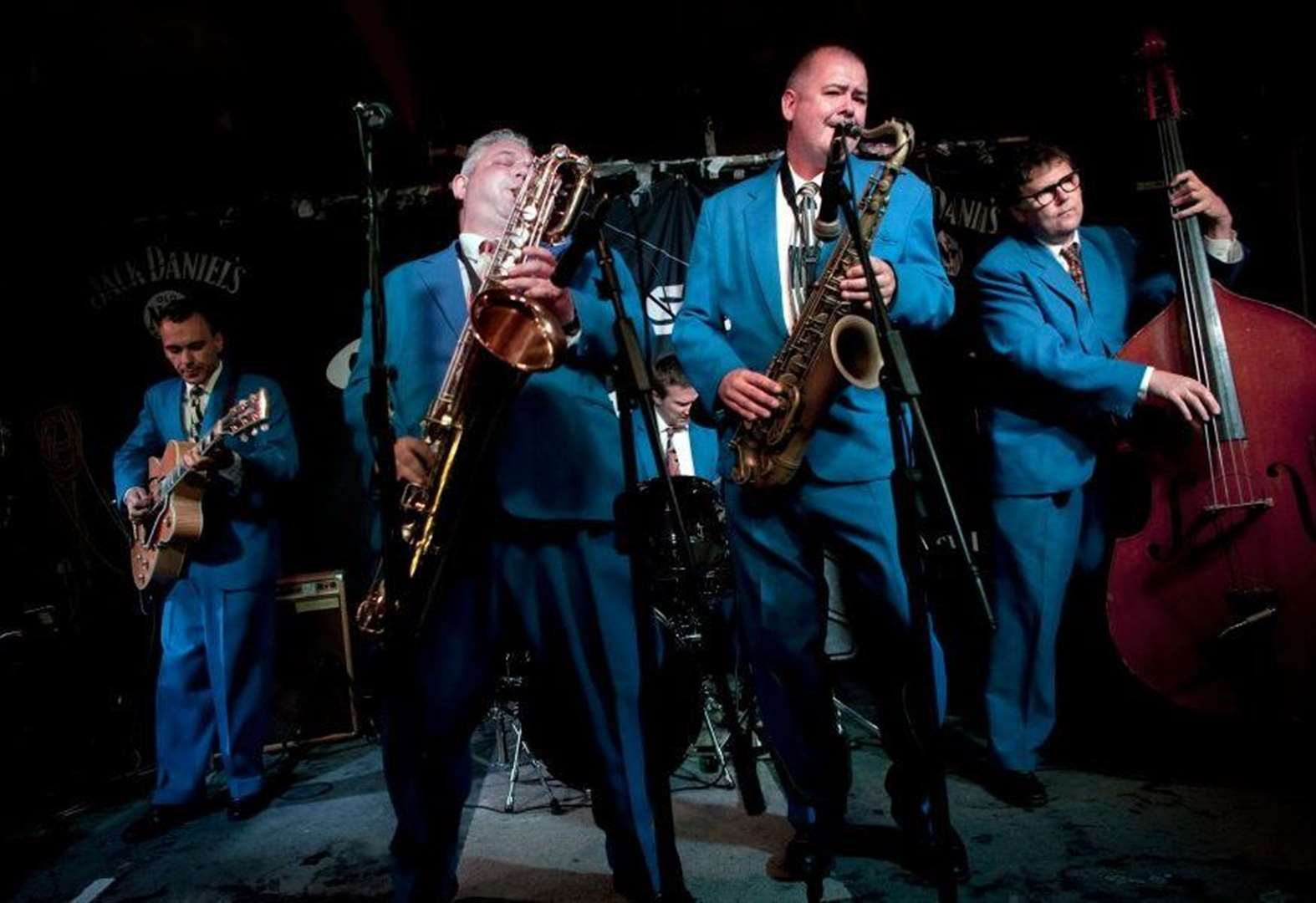 Prepare to be blown away by this amazing jump, jive and swing band