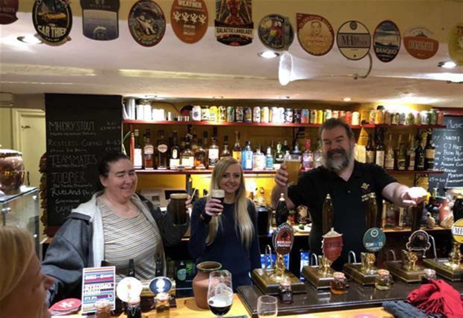 Pub beats naysayers by celebrating three years
