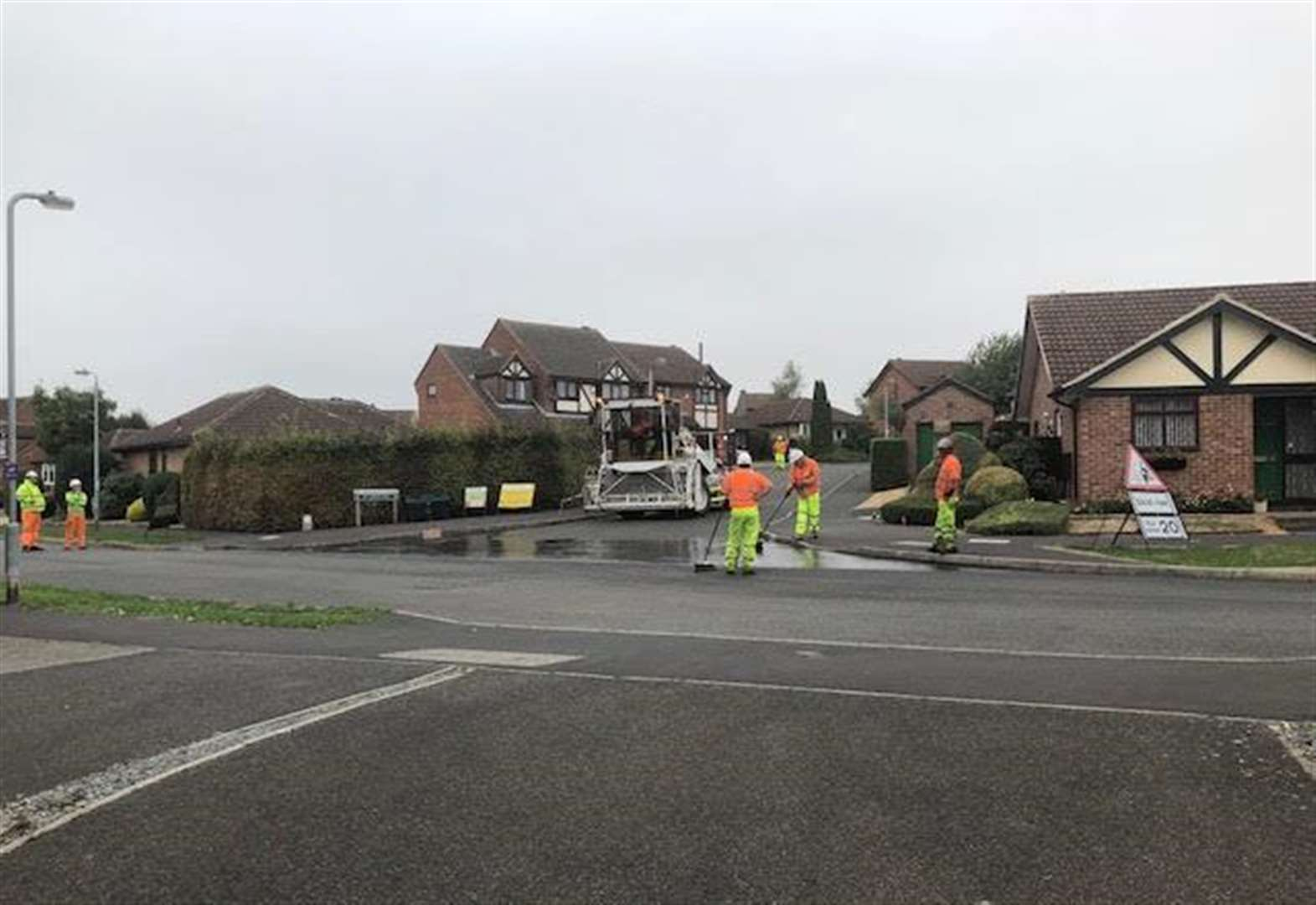 Grantham man's dismay at surface work on 'side streets' instead of pothole ridden roads