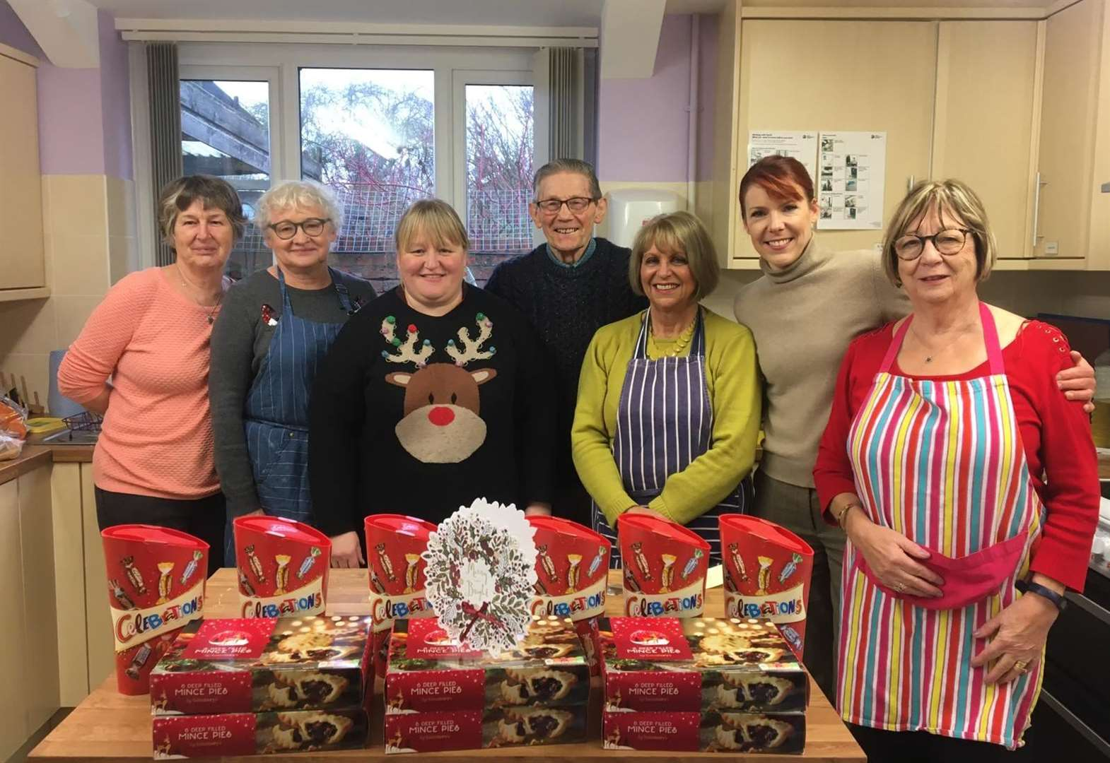 Sainsbury's staff hand gifts to people with big hearts