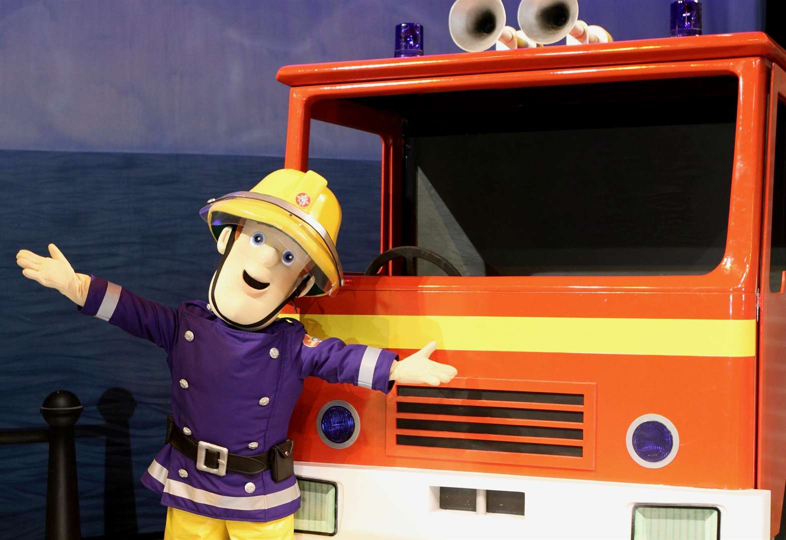 Mascot Fireman Sam is sacked following complaints