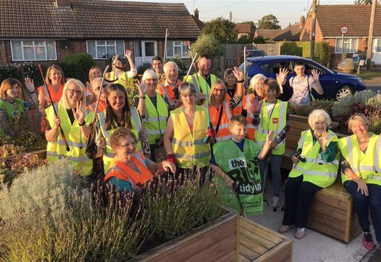 Bottesford residents rally together at community litter pick