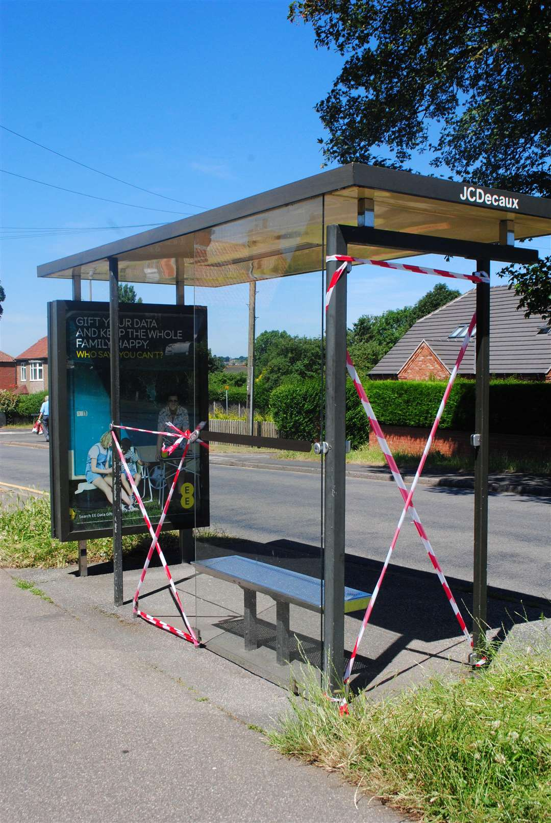 The bus stop on Turnor Close (2723519)