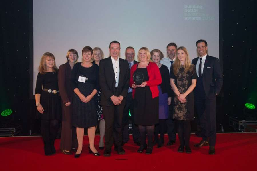 Grantham's Hospice in a Hospital was named best end-of-life care project.