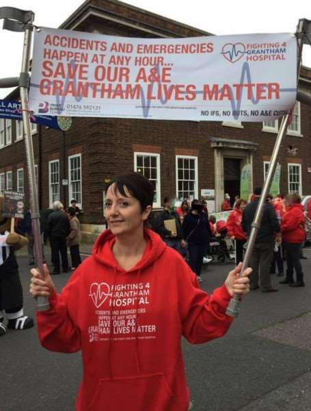 Sarah Stock, of Fighting 4 Grantham Hospital, has announced she will stand as an independent candidate in the Sleaford and North Hykeham by-election.