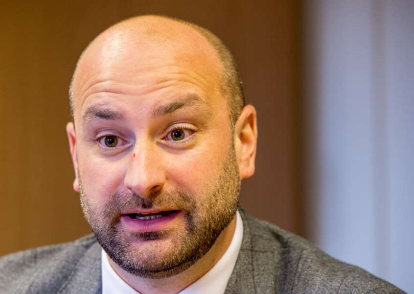 Police and Crime Commissioner for Lincolnshire, Coun Marc Jones. Photo by John Aron.