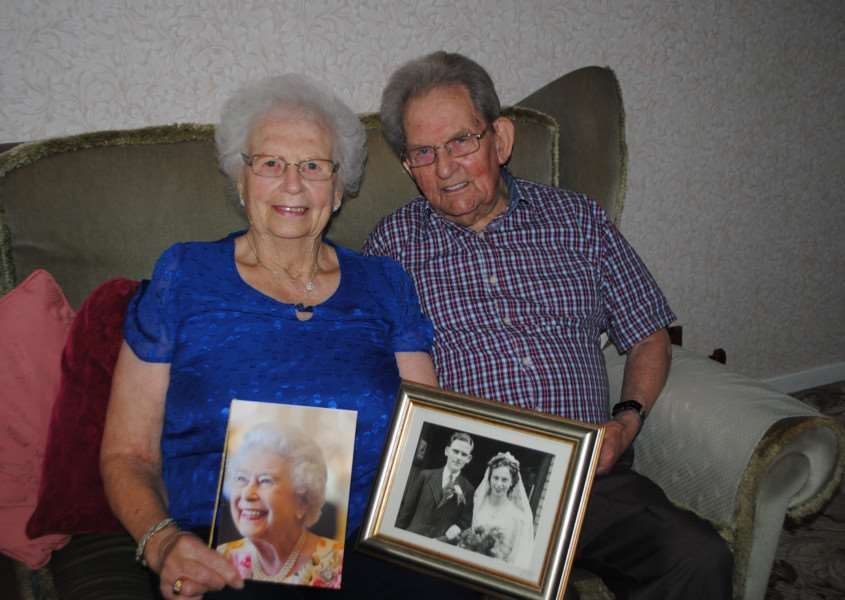 Platinum anniversary: Ron and Barbara Venables are celebrating 70 years of marriage.