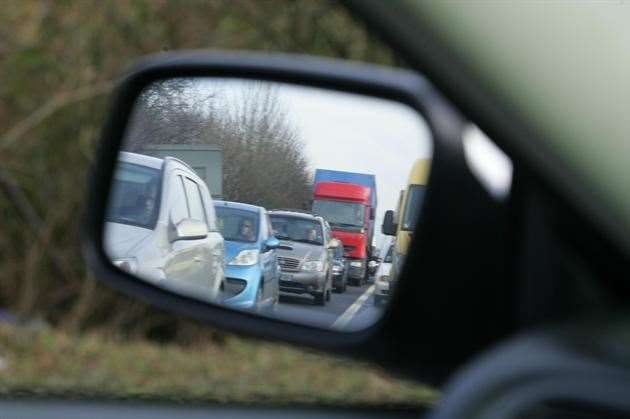 Traffic stock image (10876512)
