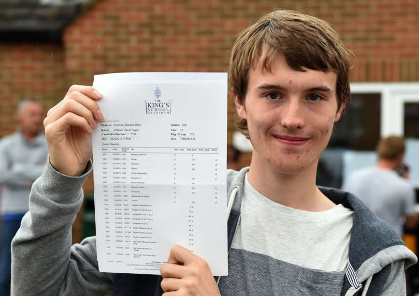 GCSE results, King's School: William Taylor