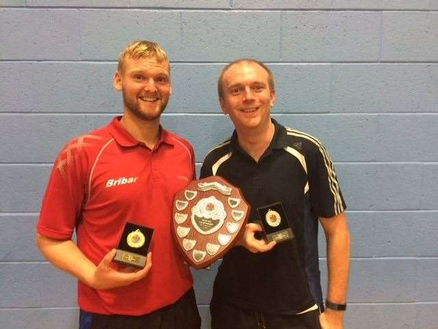 Champion Sasha Martin and runner-up Richard Pullen. (15772873)