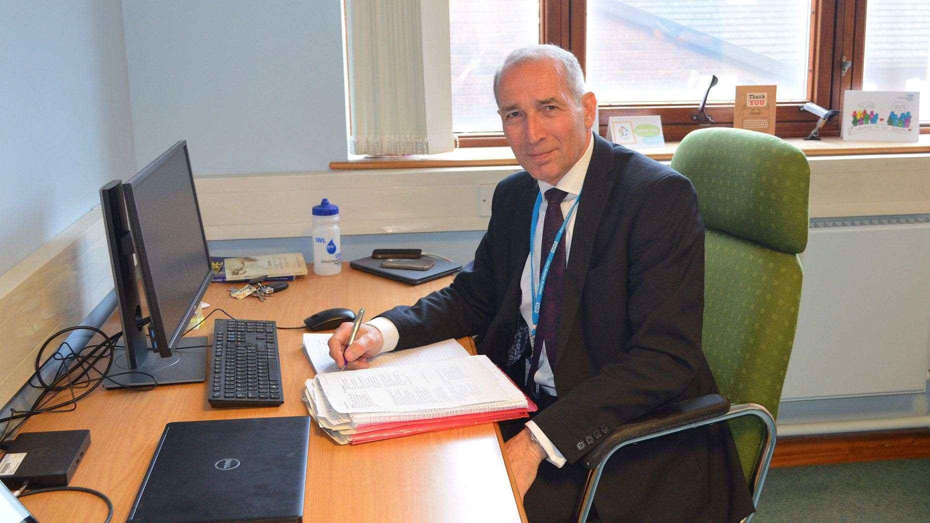 Jan Sobieraj, outgoing chief executive of United Lincolnshire Hospitals Trust. Picture: Calvin Robinson. (12137105)