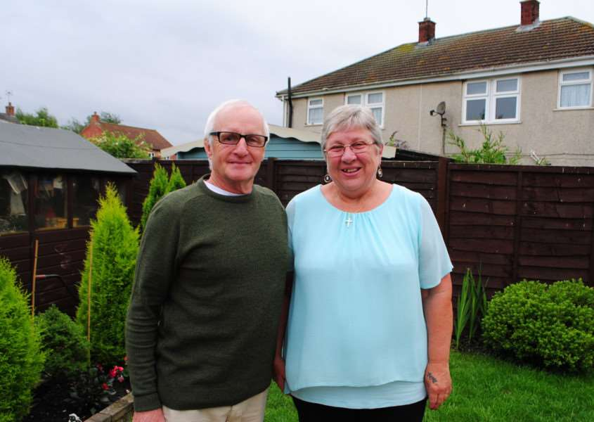 David and Janis Bunn, of Sudbrook, are celebrating their golden wedding anniversary.