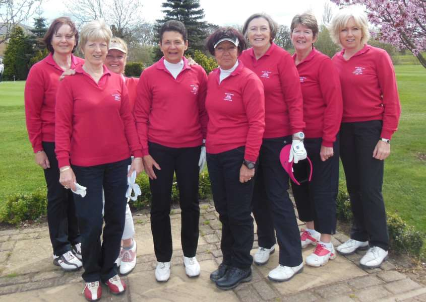 Belton Woods ladies' B team