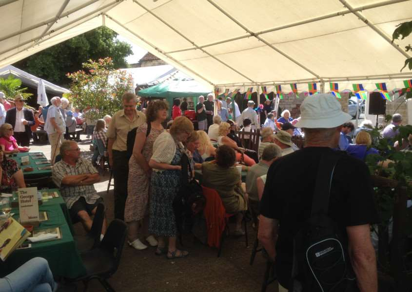 Day of Lincolnshire Folk Music, Dance and Song at George Hotel, Leadenham.