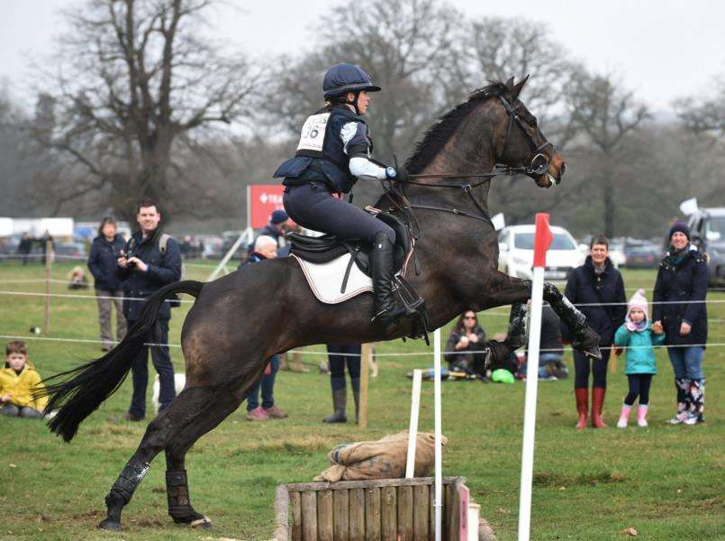 Vittoria Panizzon in action at Belton Horse Trials