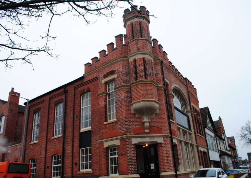 The Citadel on London Road, Grantham, formerly the home of the Salvation Army, now the home of Grantham Gingerbread.