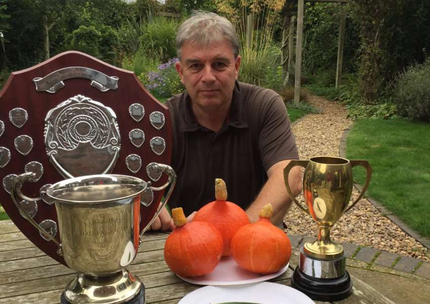 Barrowby Flower and Vegetable Show, Nigel Jones
