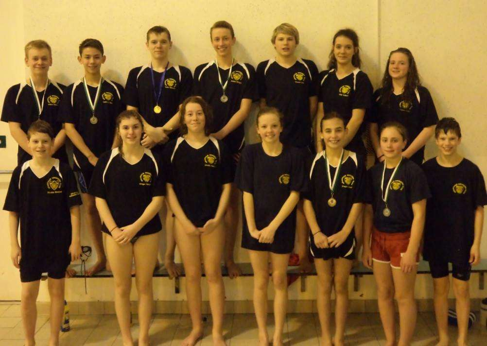 Swimmers from Grantham performed well at county championships opener.