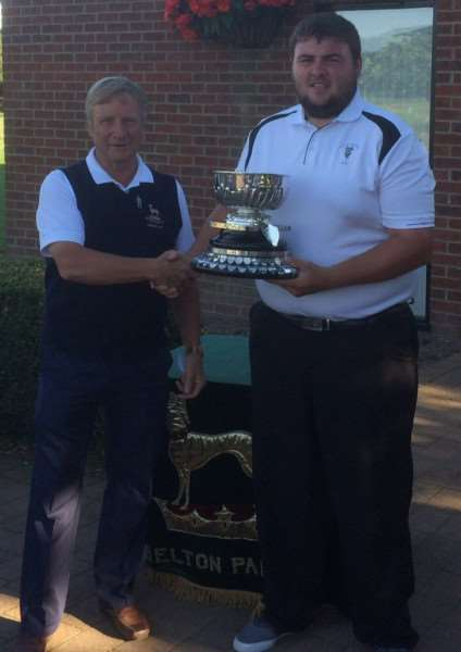 Belton Park men's gross champion Levi Desmond.