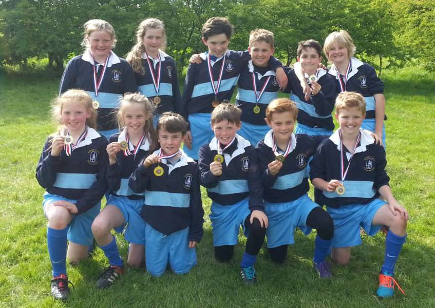 Ropsley Primary school rugby winners